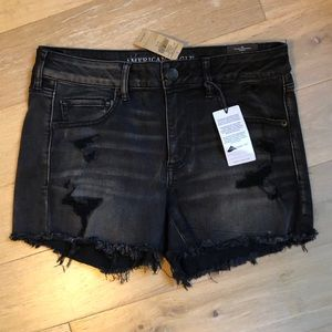 NWT AE Outfitters Distressed Jean Shorts